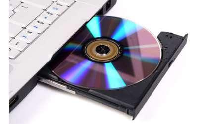 تست DVD-CD درایو لپ تاپ استوک
